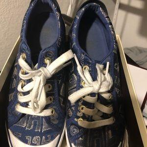 Denim Coach Shoes